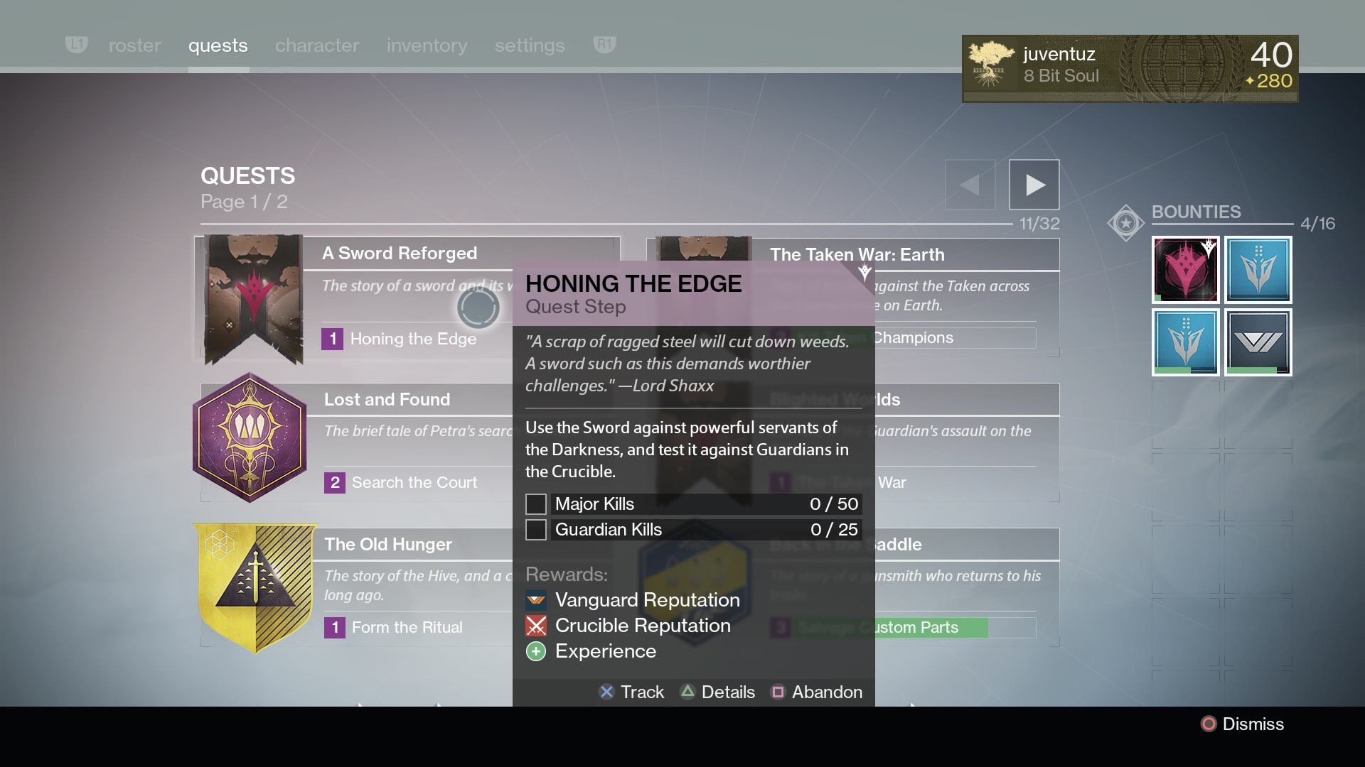 Alak hul sword quest prizes