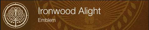 Ironwood Alight Emblem