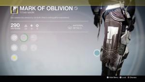 Mark of Oblivion
