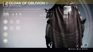 Cloak of the Oblivion