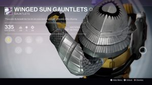 Winged Sun Gauntlets