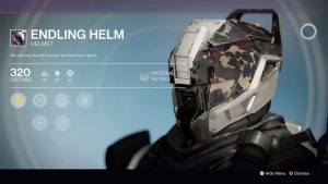 Endling Helm