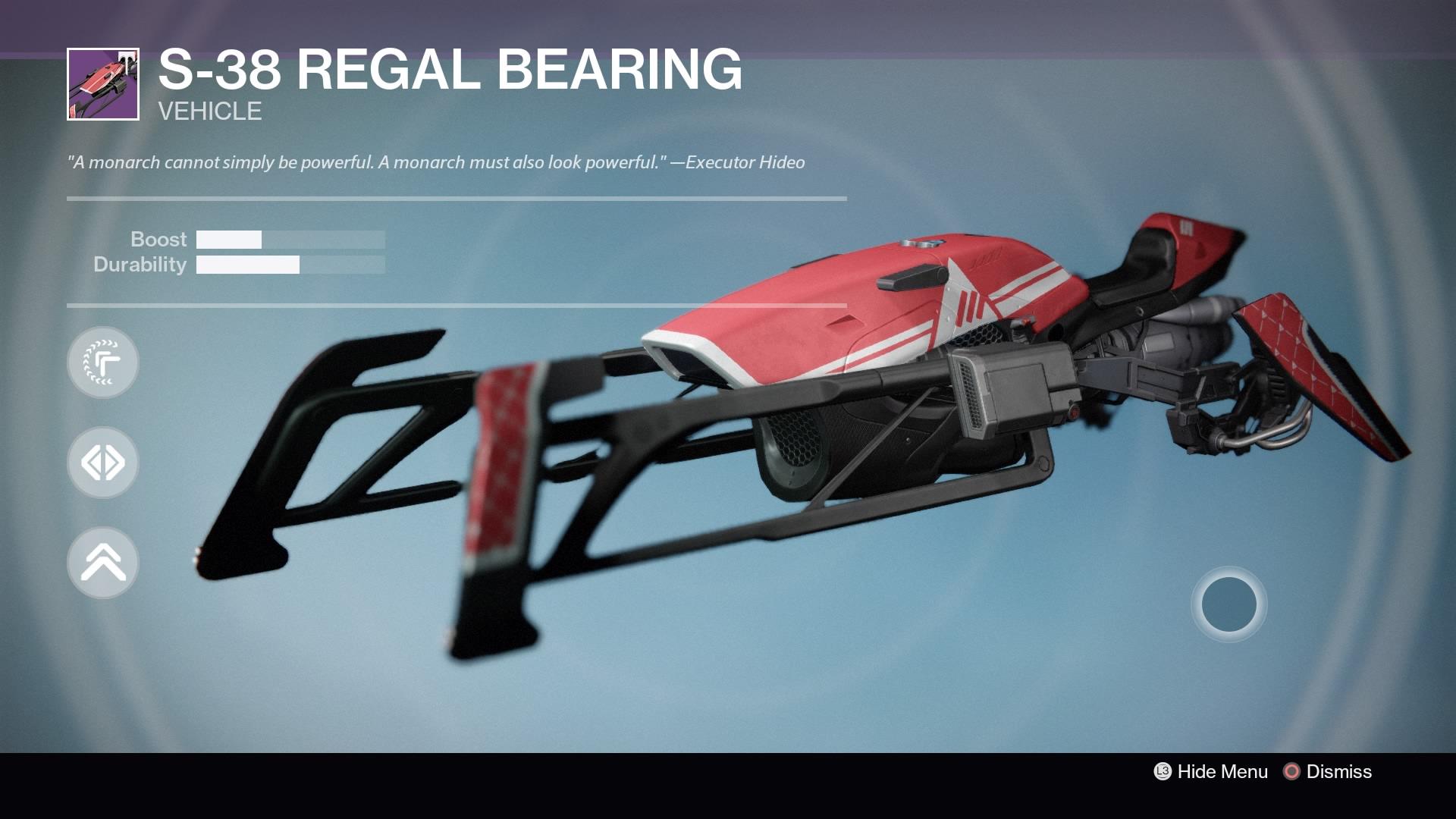 S-38 Regal Bearing