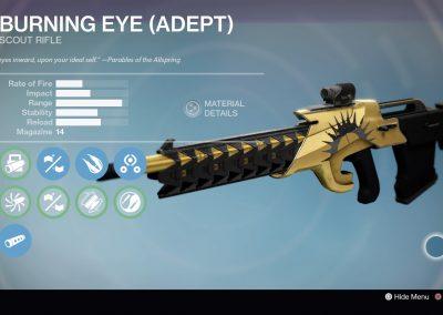 Burning Eye (Adept)