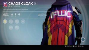 Chaos Cloak