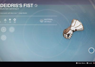 Deidris's Fist