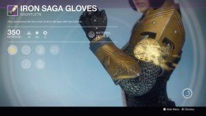 Iron Saga Gloves