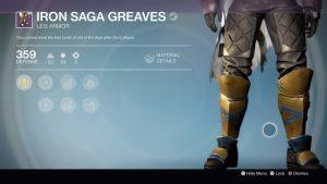 Iron Saga Greaves