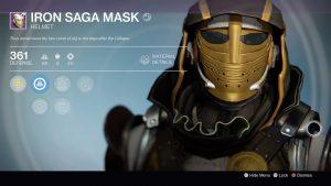 Iron Saga Mask