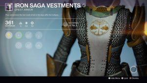 Iron Saga Vestments