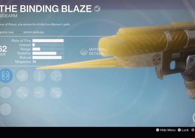 The Binding Blaze