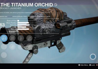 The Titanium Orchid