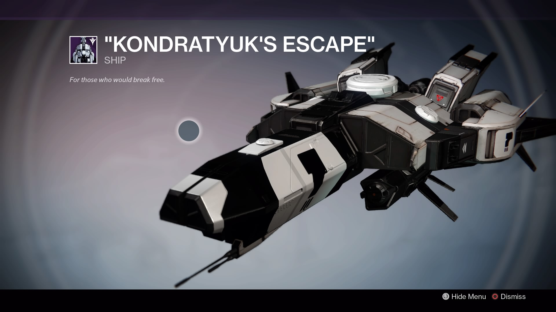 Kondratyuk's Escape