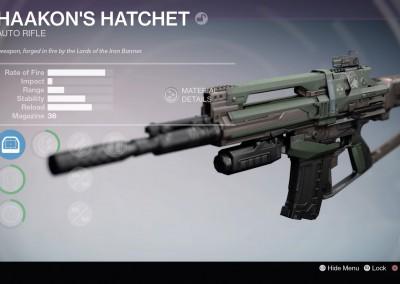 Haakon's Hatchet