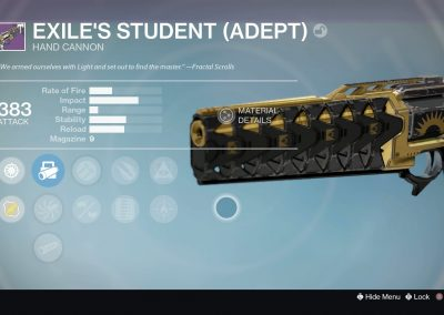 Exile's Student (Adept)