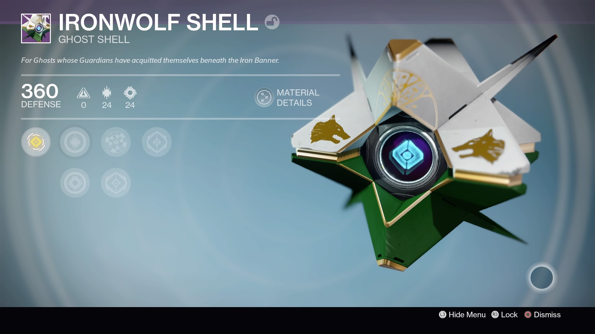 Ironwolf Shell