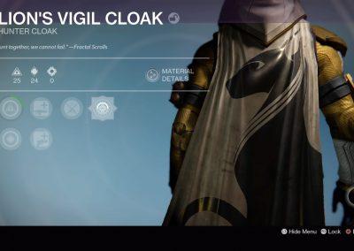 Lion's Vigil Cloak