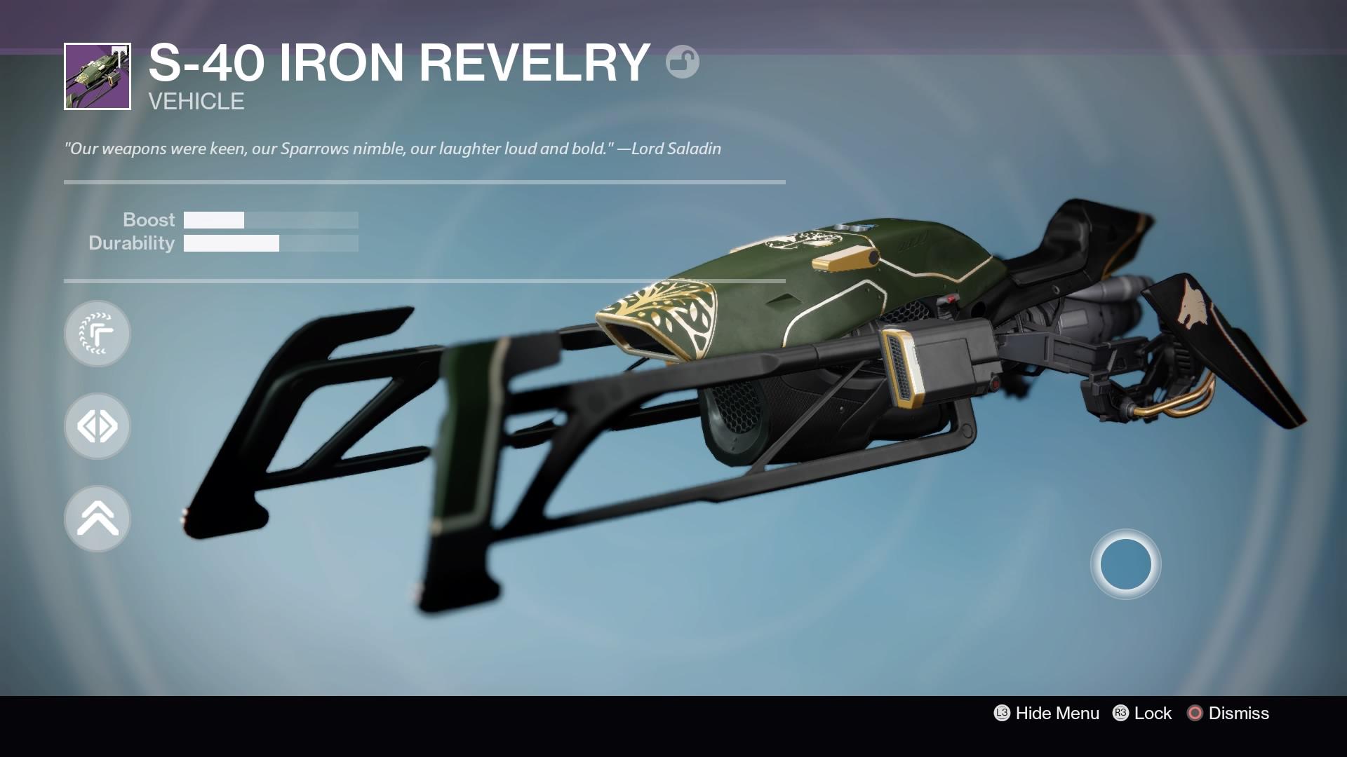 S-40 Iron Revelry